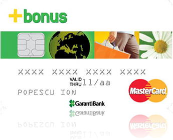 Garanti Bank prin Bonus Card