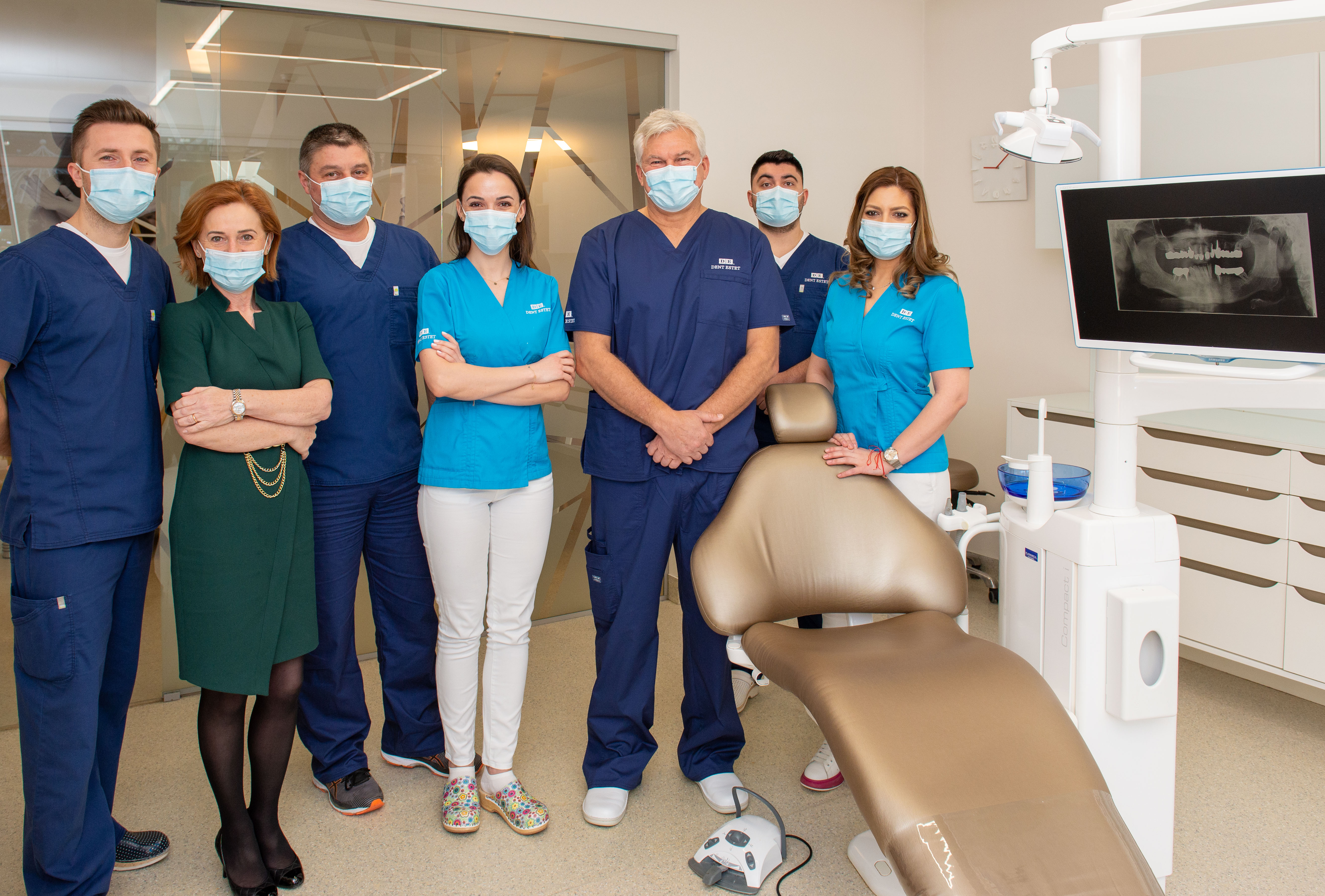 DENT ESTET is the detached leader in dentistry, with a turnover of EUR 13.7 million in 2020